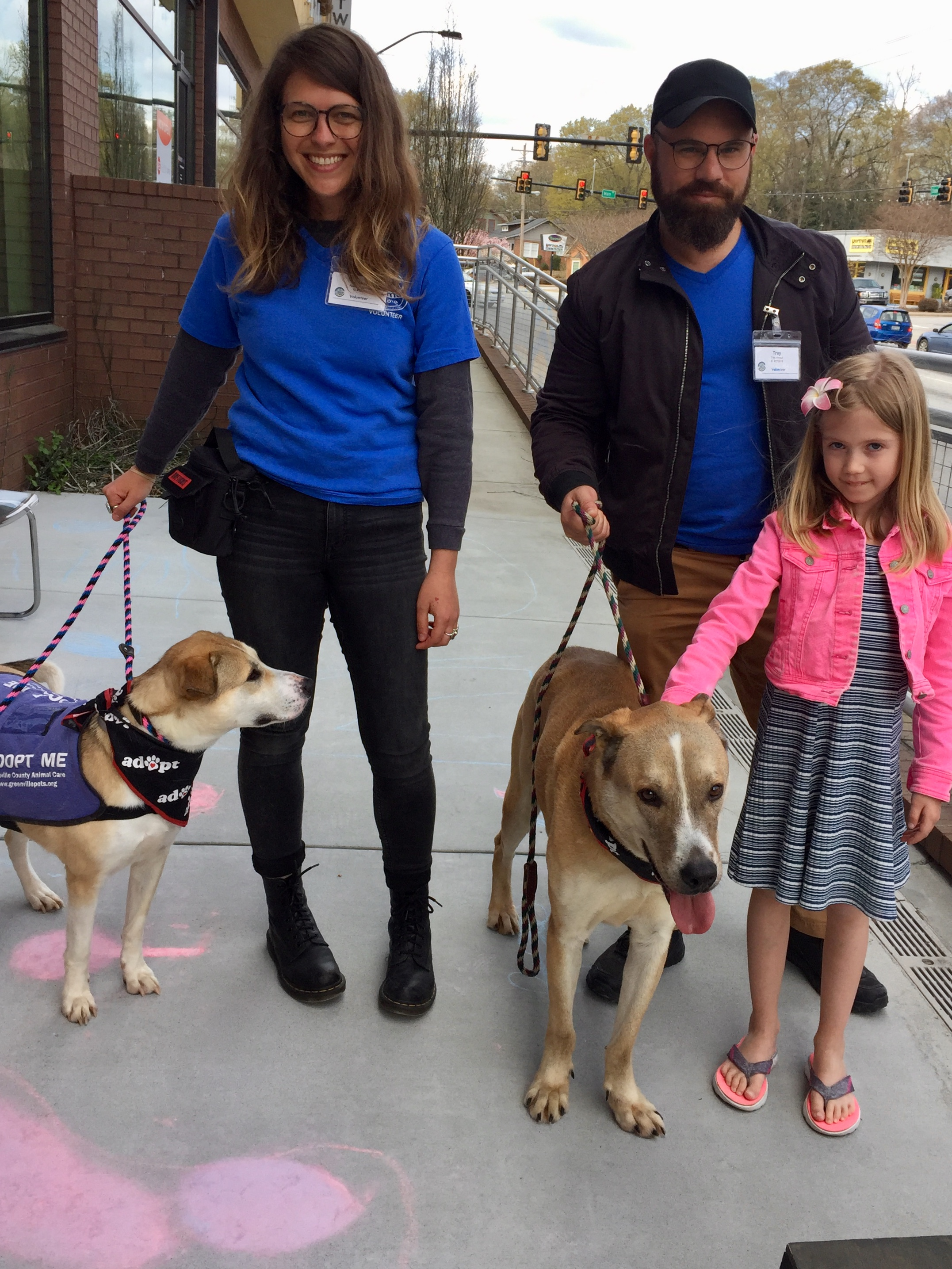 Greenville Animal Care, dogs, adoption, open house, smile